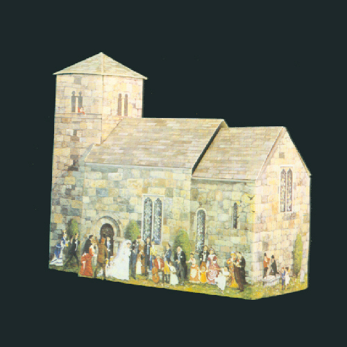 b001 - Saxon Church