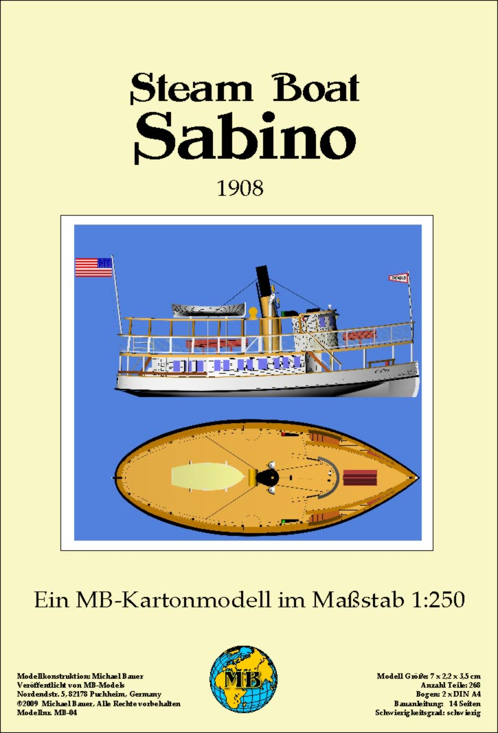 00004 - Steamboat Sabino 1:2504