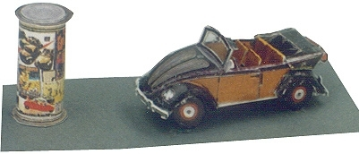 TBS 602 - VW Käfer 1200 Cabrio, 1950  1-120